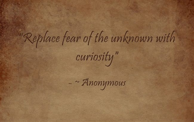 25+ Best Ideas About Fear Of The Unknown On Pinterest