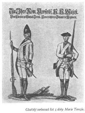 Z naší vojenské minulosti: Stálé vojsko na starých základech. Seriál vydaný v roce 1938