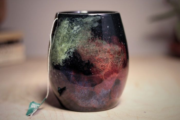 Galaxy-Inspired Ceramics That Let You Drink From The Stars   Bored Panda