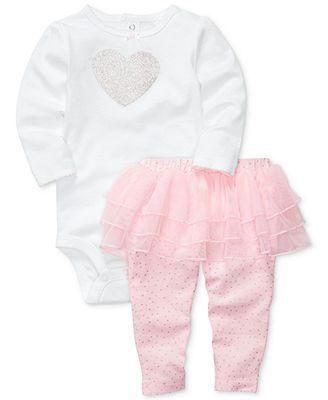 Carter's Baby Set, Baby Girls 2-Piece Bodysuit and Leggings