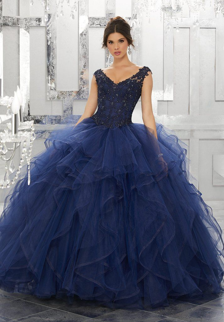 35d3bf38090a6 Quinceanera Dress 60026 Valencia Collection.  morileedress  quincestyle   dresses  centraljersey  fashion  style  outfit  womensstyle  womensfashion   clothes ...