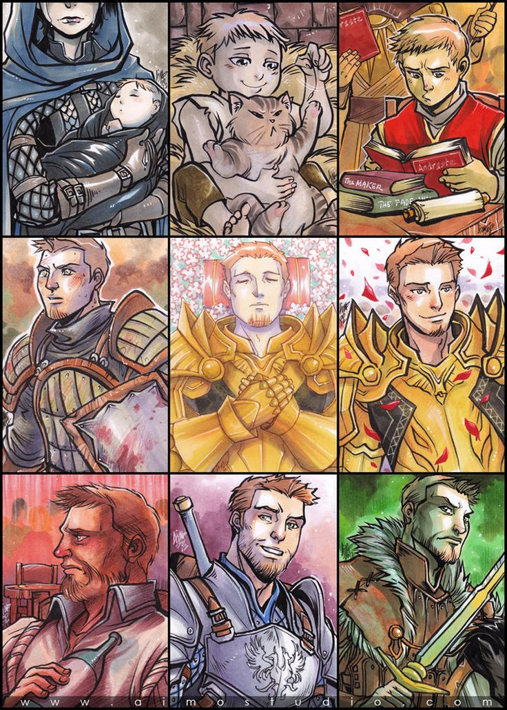 alistair from dragon age
