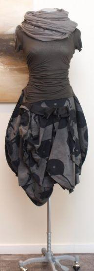 rundholz - Shirt Kurzarm salmiac - Sommer 2014 - stilecht - mode für frauen mit format...