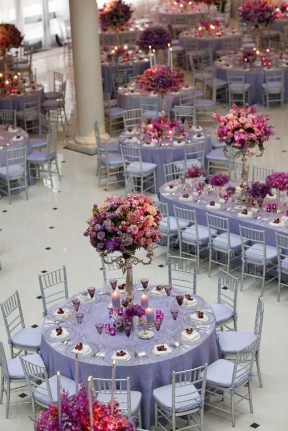 Weddbook is a content discovery engine mostly specialized on wedding concept. You can collect images, videos or articles you discovered organize them, add your own ideas to your collections and share with other people | Purple Fantasy Wedding {Melissa Paul Ltd.; Peter Callahan Catering, Eventions Productions, Photo: Phil Kramer}