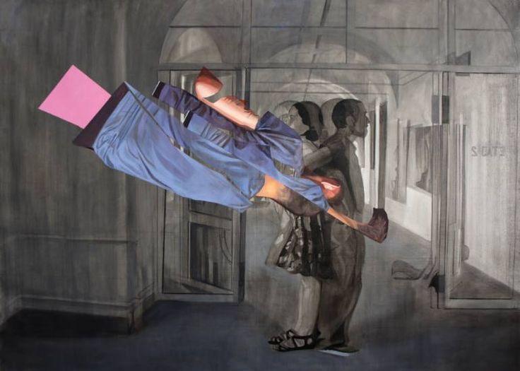 "Saatchi Art Artist Emanuel-Alexandru Gliga; Painting, ""Duality"" #art"