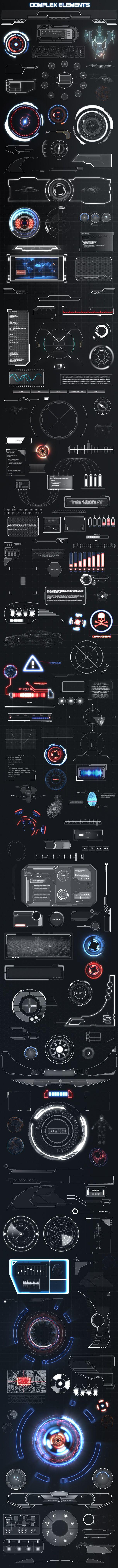科技感素材 H2学院,专注游戏研发教育公...