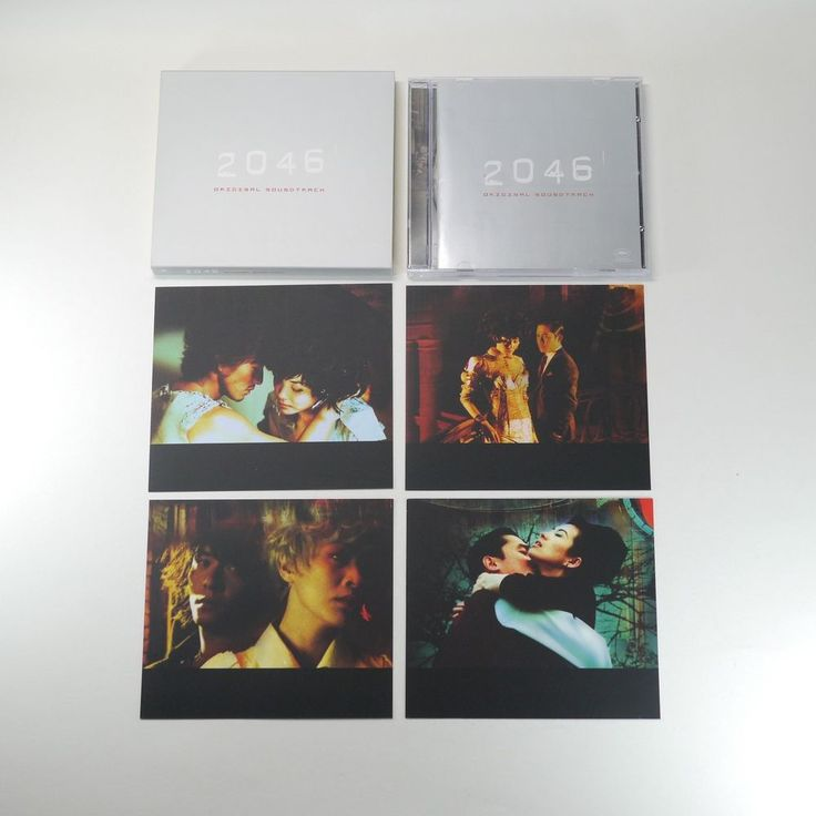 2046 OST [Korea Limited Edition, Slip Cover, Jewel Case, 4Photo Cards, 1CD] 2004…