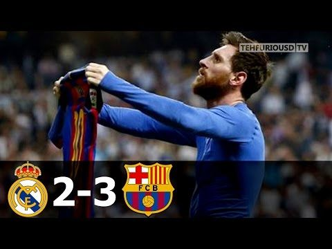 Real Madrid vs FC Barcelona 2-3 All Goals and Short Highlights with English Commentary 2016-17 - YouTube
