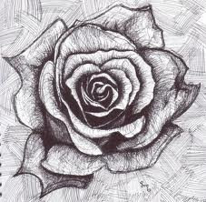 black and white rose tattoos - Google Search