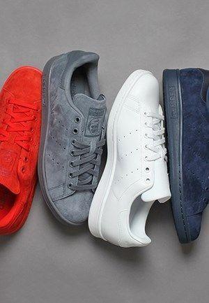 adidas Originals Stan Smith Tonal Pack - The Drop Date Sport Fashion, Fashion Shoes, Mens Fashion, Fashion News, Adidas Shoes Women, Nike Women, Adidas Stan Smith, Men's Shoes, Nike Shoes