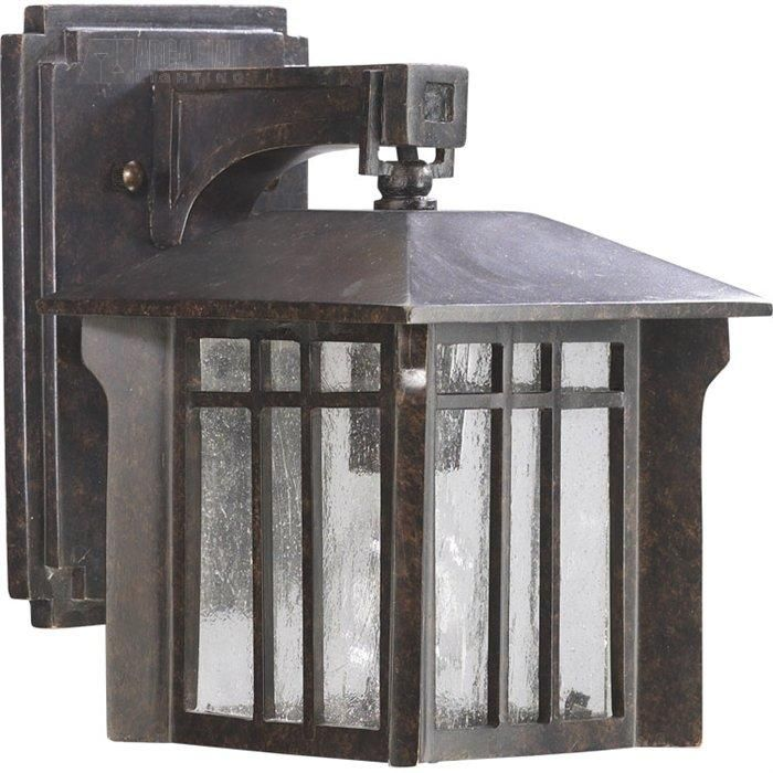 arts and crafts outdoor sconce   Quorum Lighting Arts and Crafts Transitional Outdoor Wall Sconce - QR ...