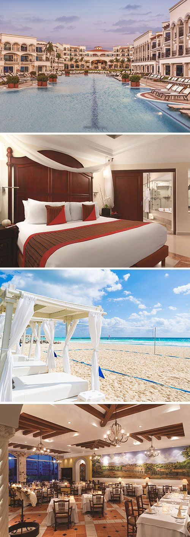 Het luxe adults only hotel The Royal Playa del Carmen in Mexico biedt alles voor een ontspannen zonvakantie. Verblijf in dit vijfsterren hotel o.b.v. all inclusive en kom helemaal tot rust. Duik in de zwembaden en scoor iets lekker in een van de vijf à la carte restaurants. Of relax jij liever in je eigen jacuzzi in je suite?