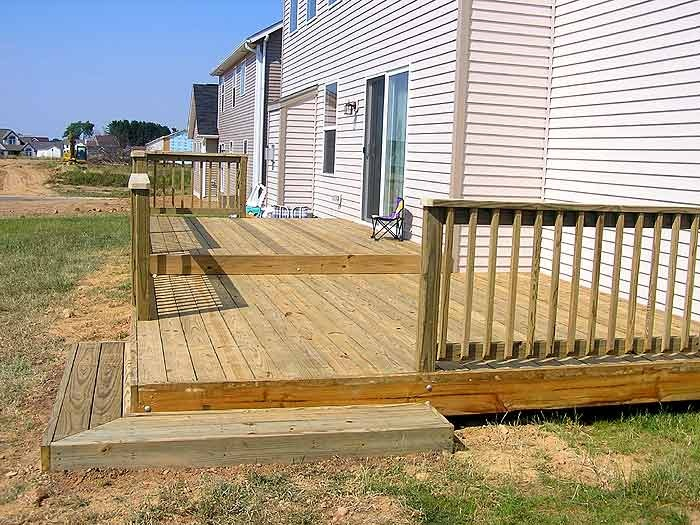 Tiered Backyard Decks : Decks, Tiered deck and The end on Pinterest