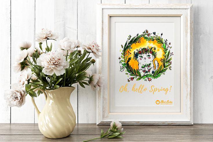 Spring Cat on Behance