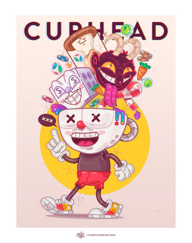 Cuphead. on Behance