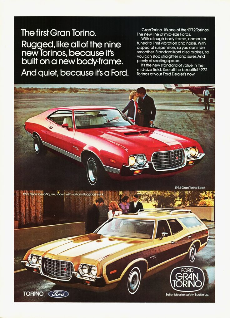 1972 Ford Grand Torino and  Grand Torino Squire