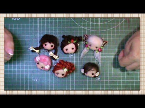 DIY para hacer Broches y colgantes con carita de muñecas | DIY - PatronesMil
