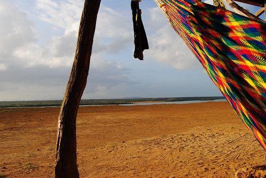Beautiful hammock @ La Guajira