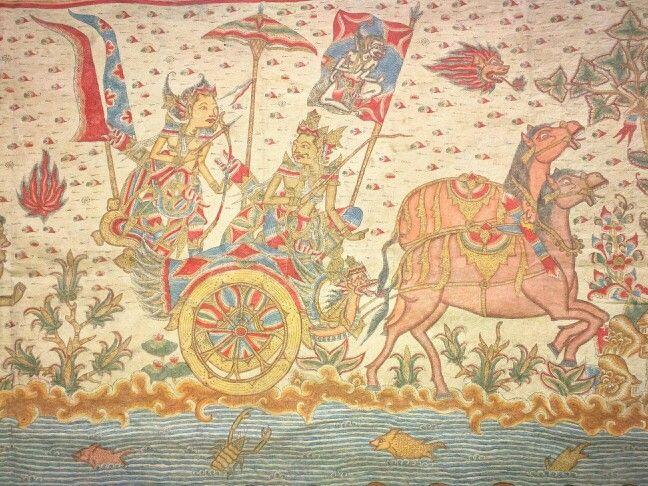Kamasan painting Bali