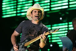 Birth name	Brad Douglas Paisley  Born	 October 28, 1972 (age 39)  Origin	Glen Dale, West Virginia,  United States  Genres	Country, Country Rock  Occupations	Singer-songwriter, musician  Instruments	Vocals, guitar, mandolin  Years active	1997–present