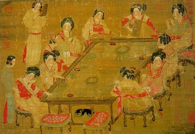 The chinese have been ruled by a succession of dynasties for Dynasty mural works