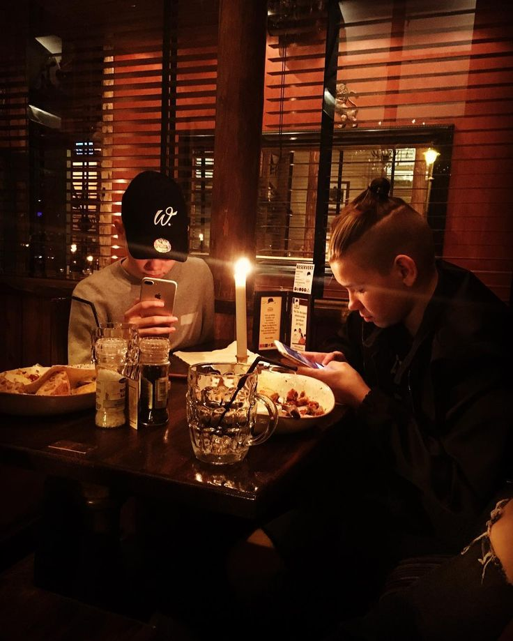 Marcus and Martinus eating What are you eating?
