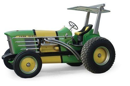 Ertl Collectibles 1:64 John Deere 4020 Foose Tractor by Ertl Collectibles. $9.24. From the Manufacturer                The 1970 4020 may be one of the most recoginzed John Deere tractors ever produced, but now internationally recognized designer and fabricator, Chip Foose, has created a one-of-a-kind customized 4020. This customized tractor was given away as part of John Deere's 2010 Big Buck Sales Event. This 1:64 scale die-cast replica showcases the Foose design and a unique...
