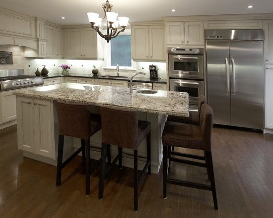 17 best ideas about kitchen island seating on pinterest for 4 seat kitchen island