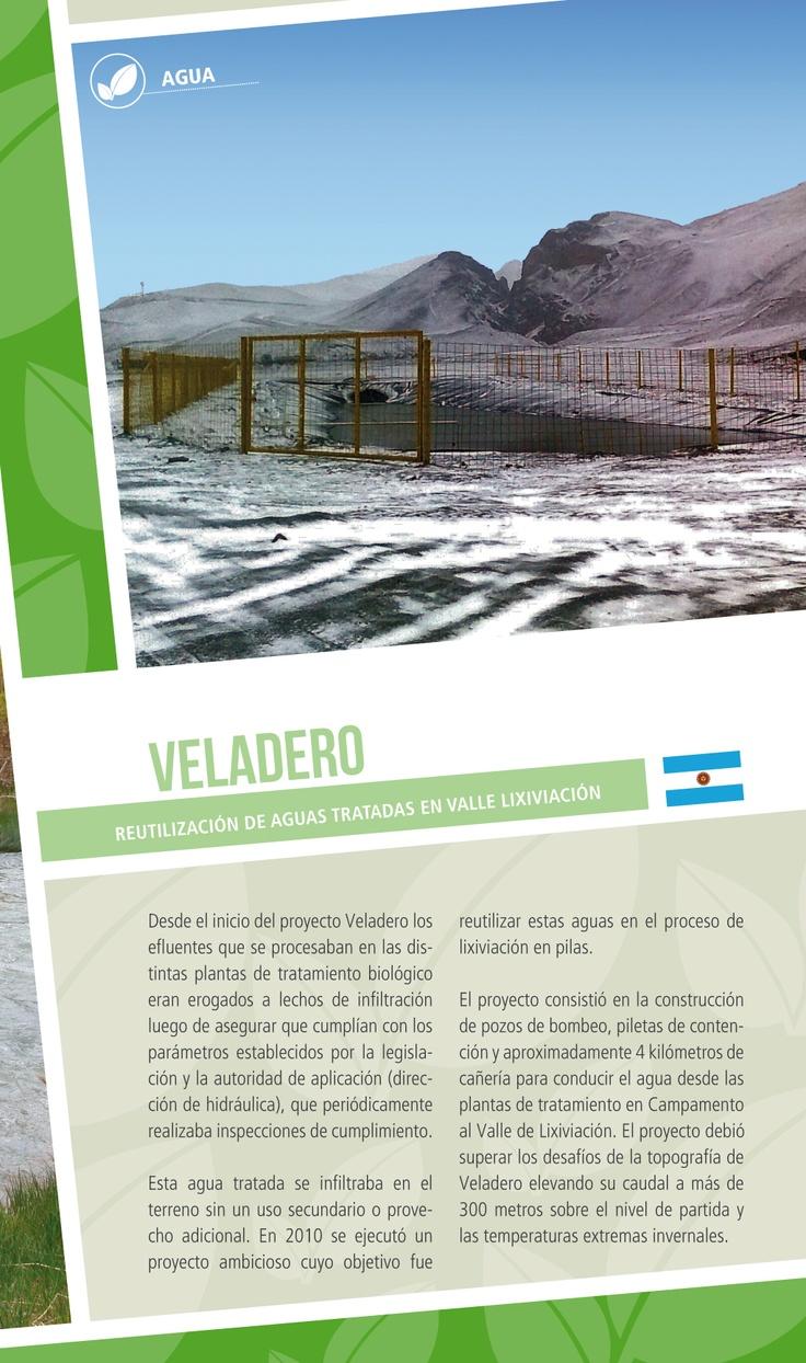 Veladero: Reutilización de aguas tratadas en valle de lixiviación - Infografía completa en el sitio de Barrick Sudamérica http://barricksudamerica.com