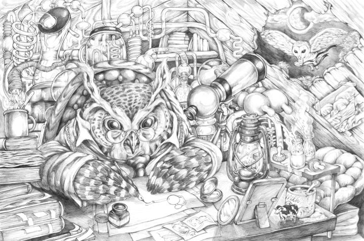 KYOTARO 博士の自動ホットミルク製造機 2003 Professor Owl's Automatic Hot Milk Making Machine. http://kyotaro.jugem.jp/?eid=943