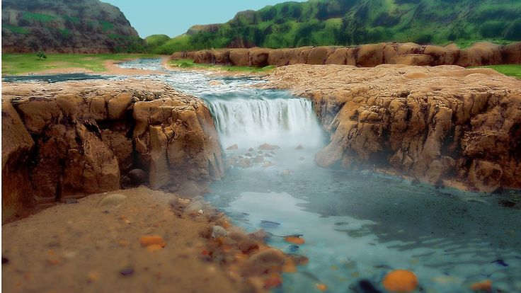 Rockpool Waterfall