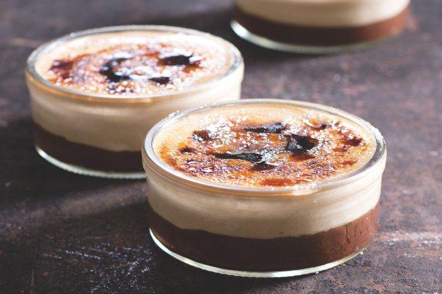 Kávové crème brûlée s čokoládou | Apetitonline.cz