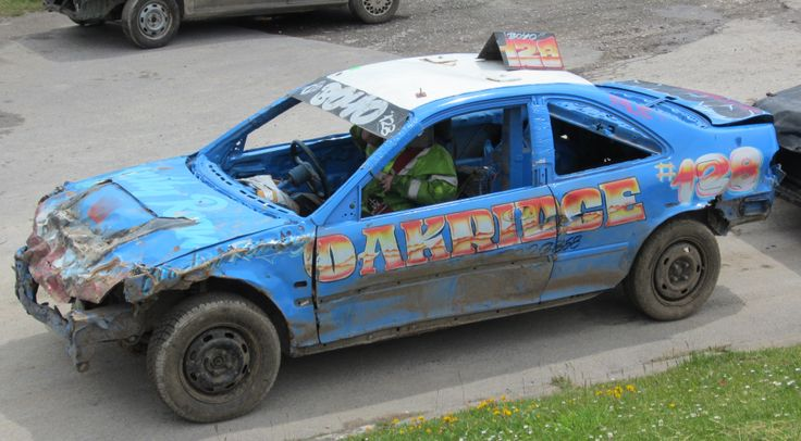 Bombers are nudge and spin limited contact banger racing, cars tend to last a few meetings.