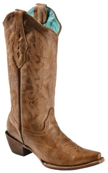 Corral Vintage Leather Cowgirl Boots - Snip Toe - Sheplers