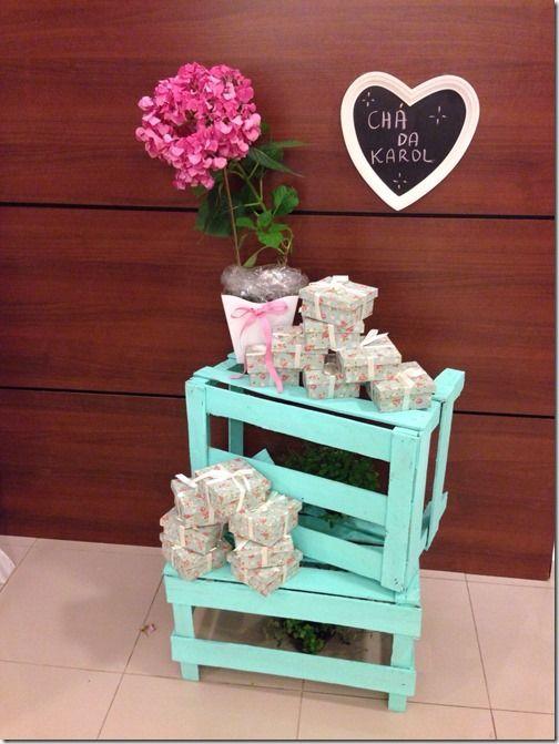 Chá de Panela Floral