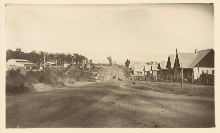 Yallourn, possibly 1940s. The Yallourn Power Station was started in 1921 and the town for the workers was built soon after. You can read a short history of the town on the Victorian Places website http://www.victorianplaces.com.au/yallourn Image: Reginald Fulford collection of photographs, State Library of Victoria Image H2014.957/26