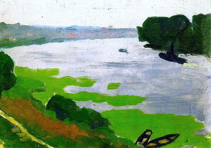 bofransson:  The Seine at Herblay Albert Marquet