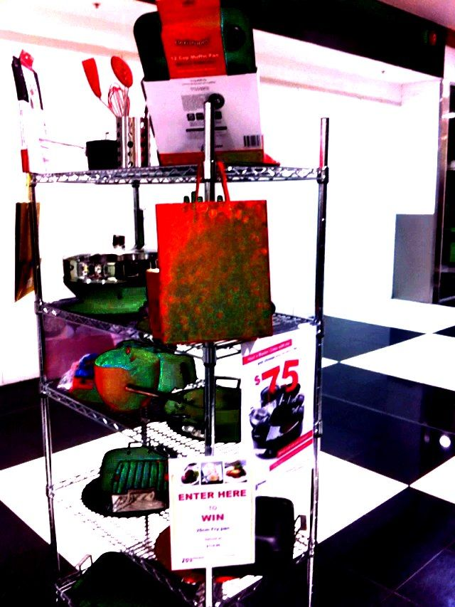 The Chefs Toolbox Display in Burnie
