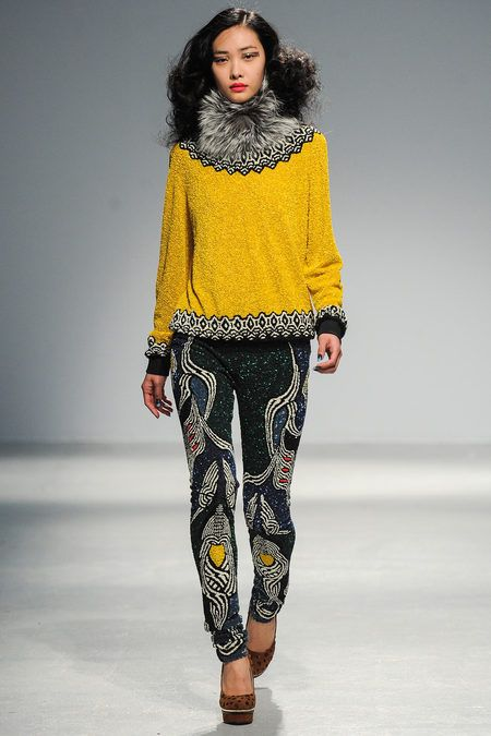 Fall 2013 Ready-to-Wear Manish Arora