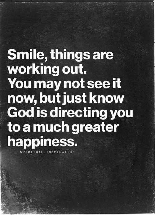 When things get tough, that's when you need to keep the #faith and continue to move forward. Don't forget to #SMILE! :)