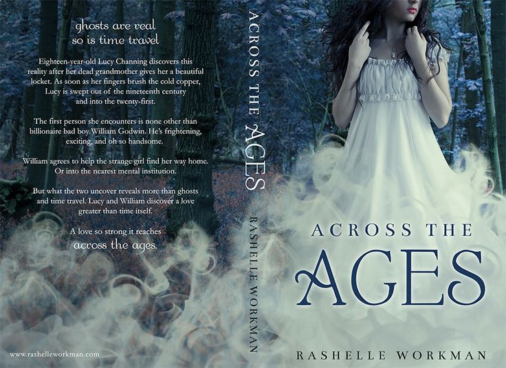 Across the Ages, by RaShelle Workman (book cover design by Morgan Media)