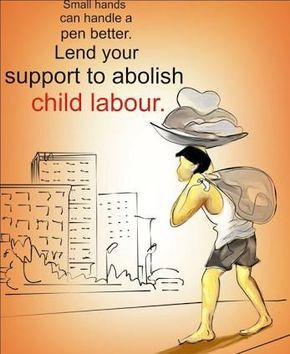 Image Result For Poster On Child Labour  Drawing  Pinterest  Image Result For Poster On Child Labour English Essays For High School Students also Thesis Statement Examples For Essays  Business Essay Topics