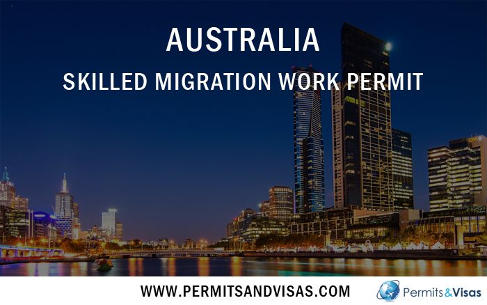 how to get work permit in australia after study