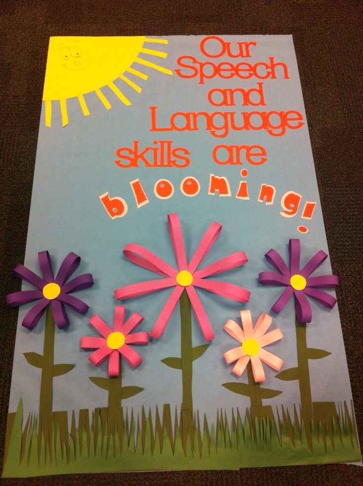 Speech Language Classroom Decorations ~ Best images about april showers bring may flowers on