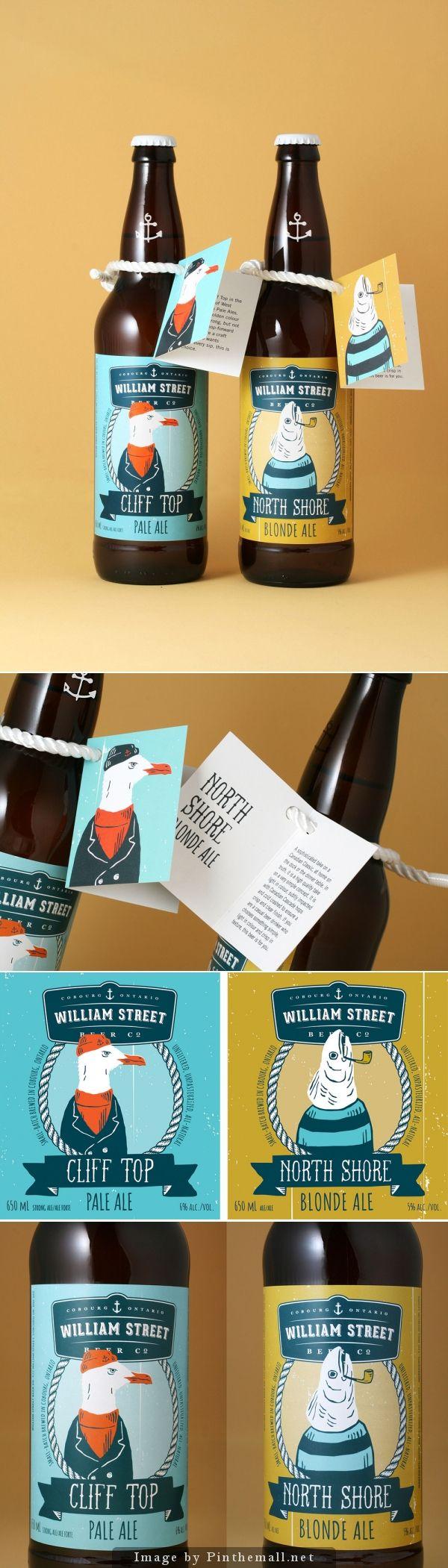 William Street Beer Co. #label #design | by Luke Despatie  The Design Firm