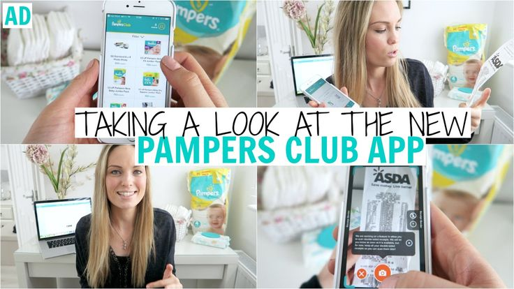 Taking A Look At The New Pampers Club App | Alex Gladwin ad
