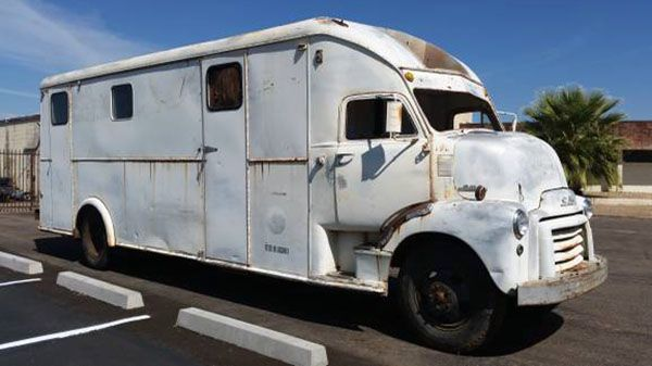 Coe Trucks For Sale >> The Bookmobile: 1951 GMC COE - http://barnfinds.com/the-bookmobile-1951-gmc-coe/ | Barn Finds ...