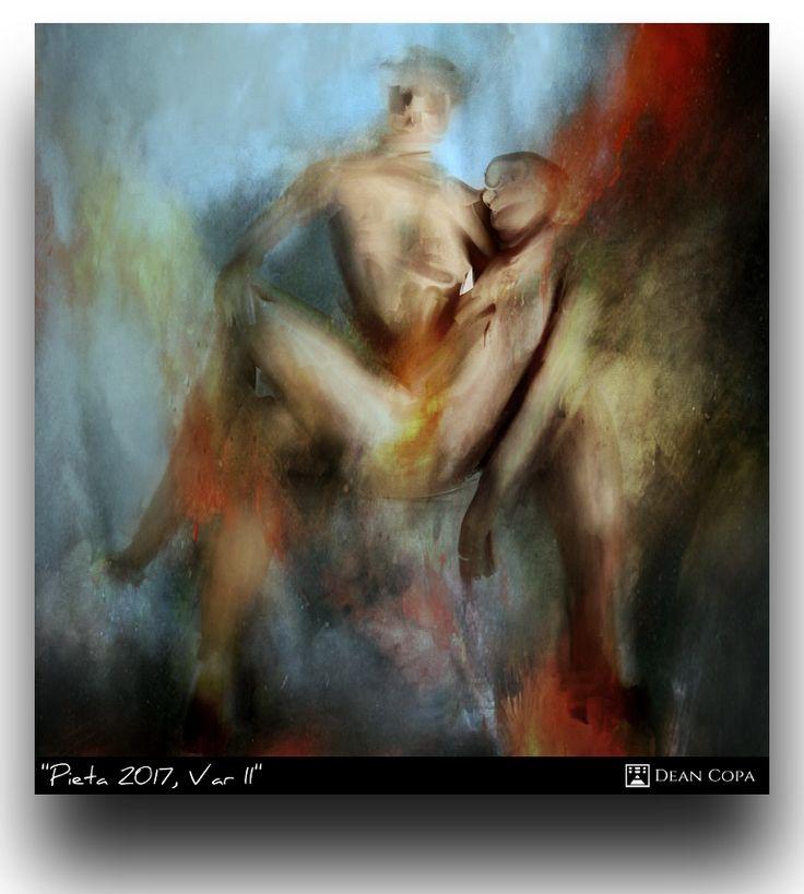 """Pietà 2017, Var. II""  2017  by Dean Copa.  Working on Variations give me an expansive, spatious and playful feeling.  Website : http://www.deancopa.com  Instagram : http://www.instagram.com/dean_copa  #DeanCopa #modernart #contemporaryart #fineart #finearts #artoftheday #artdiary #kunst #art #artcritic #artlover #artcollector #artgallery #artmuseum #gallery #contemporaryartist #emergingartist #ratedmodernart #artspotted #artdealer #collectart #newartist"