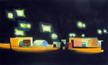 "Saatchi Art Artist Wojtek Herman; Painting, ""Rybitwy I"" #art"
