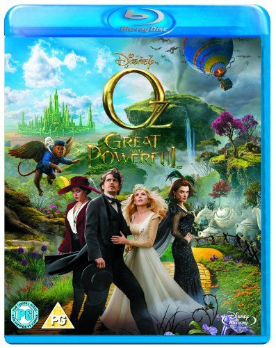 Oz the Great and Powerful [Blu-ray] (Region Free)